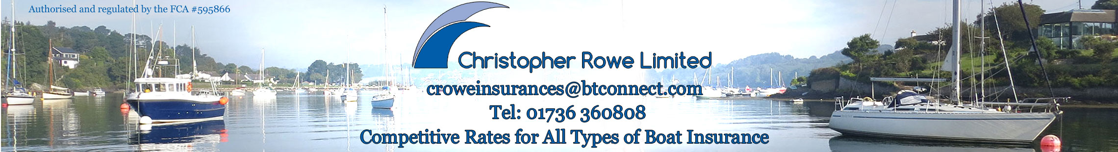 Christopher Rowe – Competitive rates for all types of boat insurance